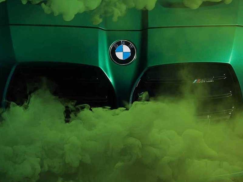 انتشار تصاویر تبلیغاتی M3 توسط بی ام و